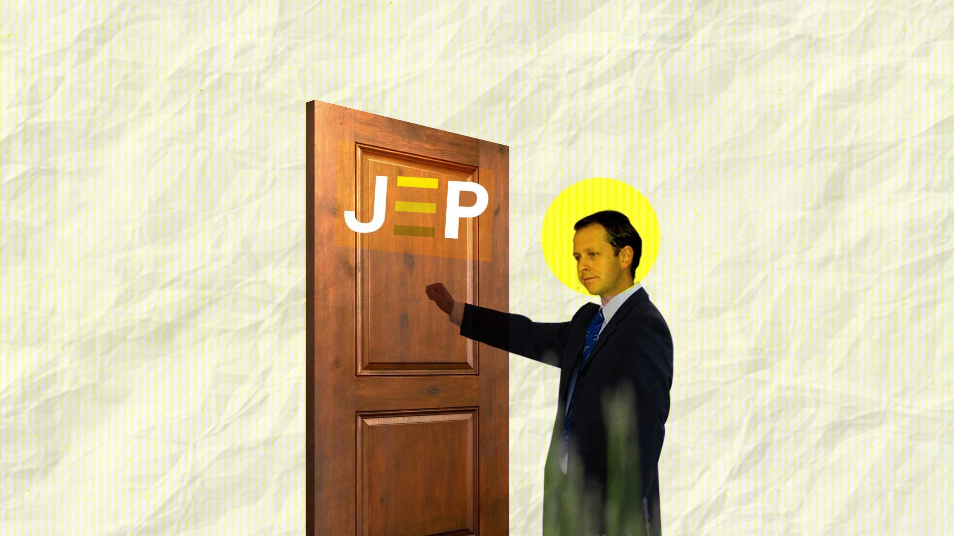 Andrés Felipe Arias, de paseo por la JEP