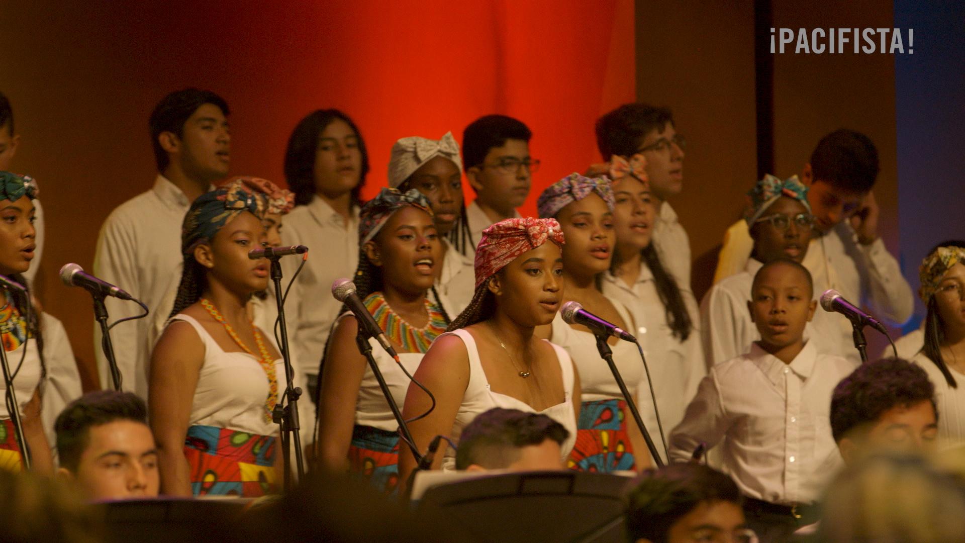 'Con la música se tejen afectos': así fue el concierto del Pacífico en Bogotá