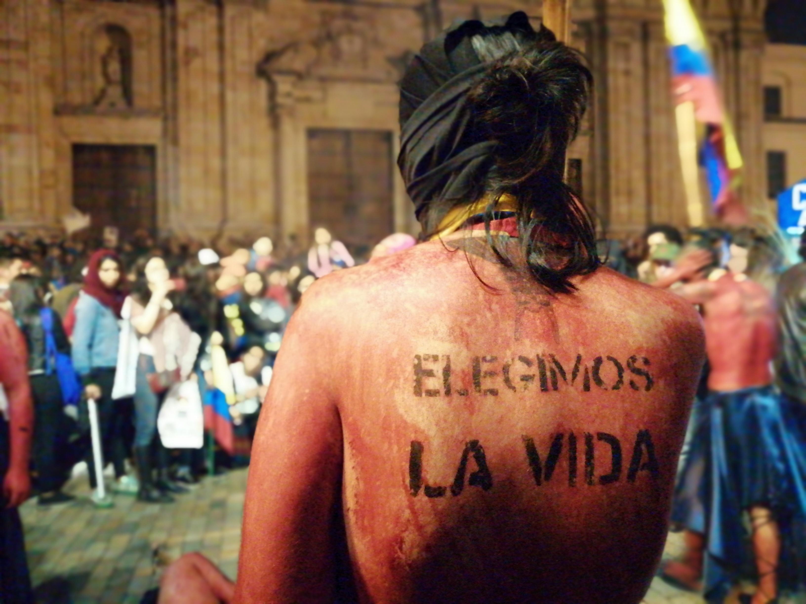'Defendamos la vida, no permitamos otro genocidio': así fue la marcha por los líderes