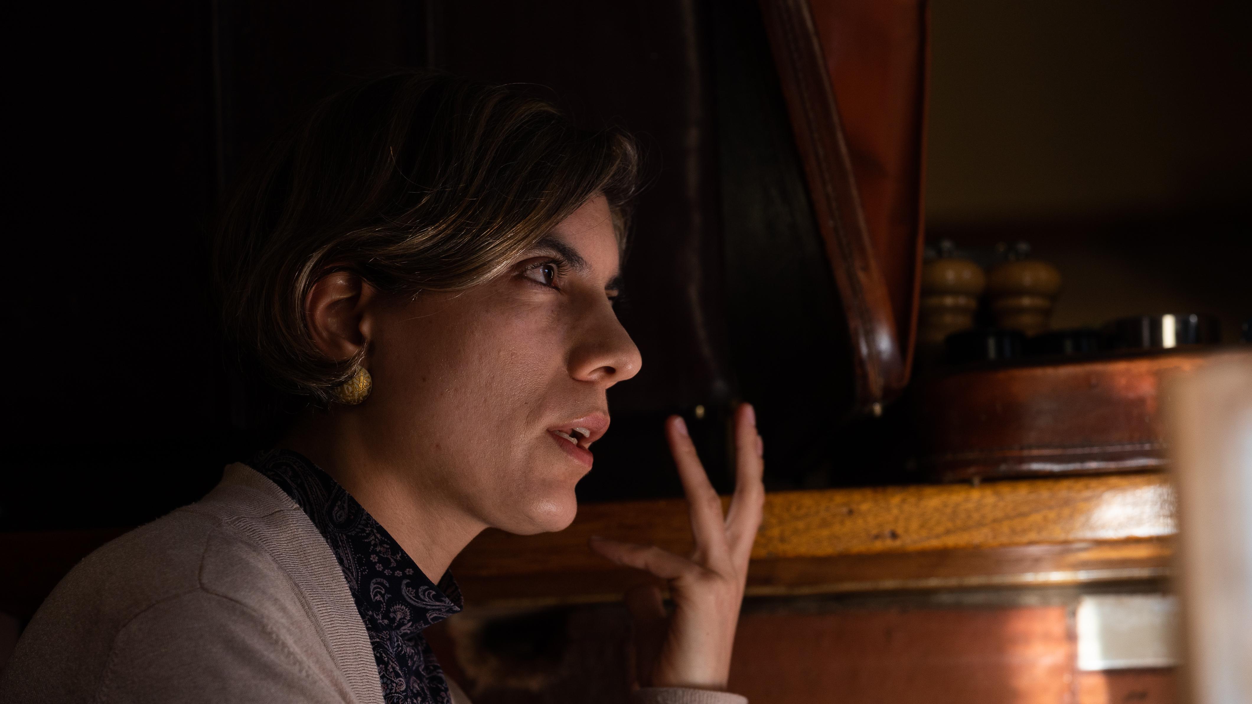 """""""Haber escogido a Duque es una muestra de debilidad de Uribe"""": Sara Tufano"""