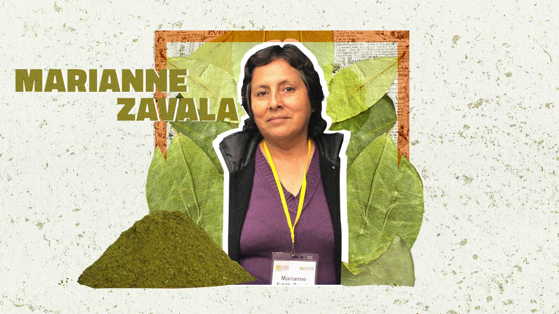 Esta es la lucha contra el narcotráfico de Maranne Zavala, líder cultivadora de coca