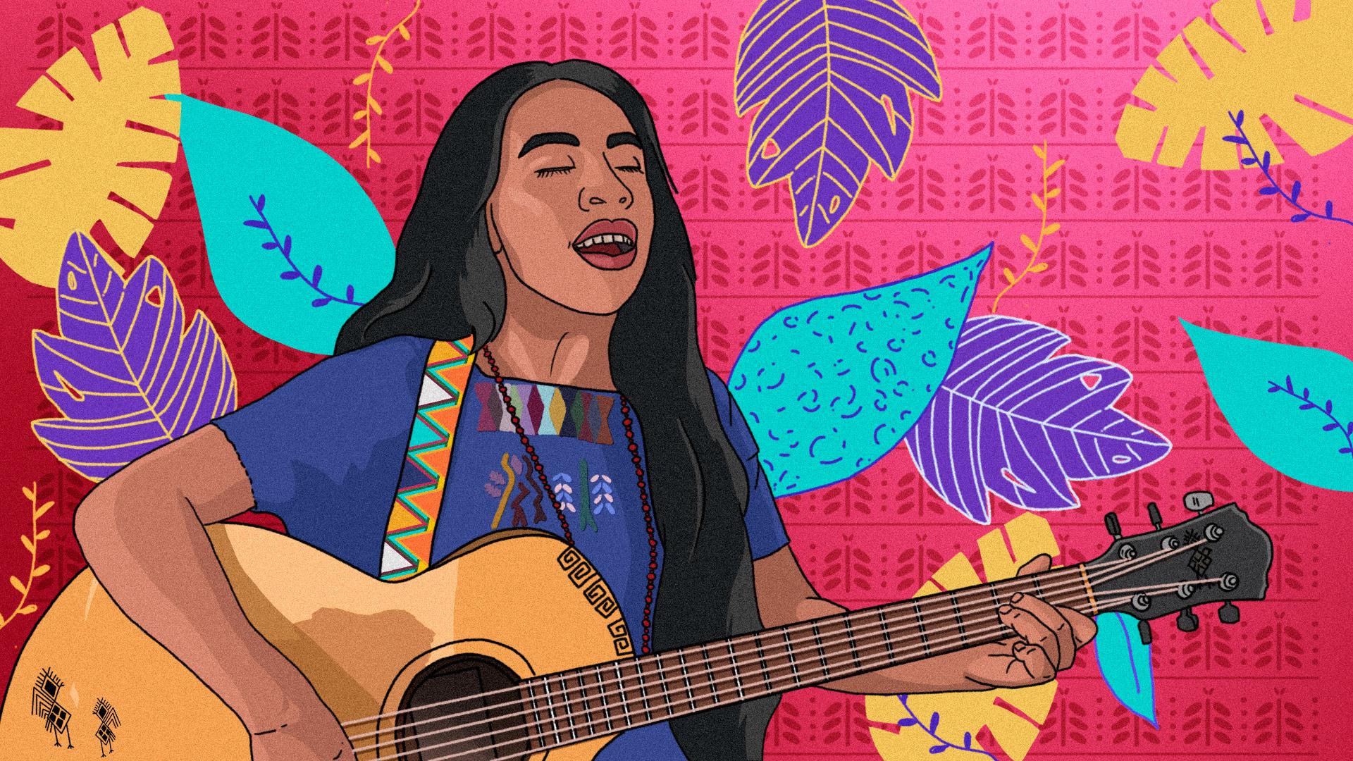 Sara Currichich: la revolución pacífica desde la música maya