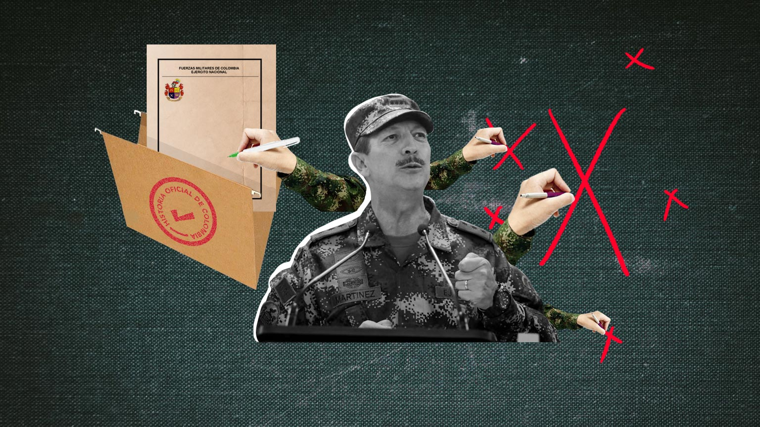 """Así ha sido el trabajo del Ejército (y del uribismo) por crear una """"verdad oficial"""""""