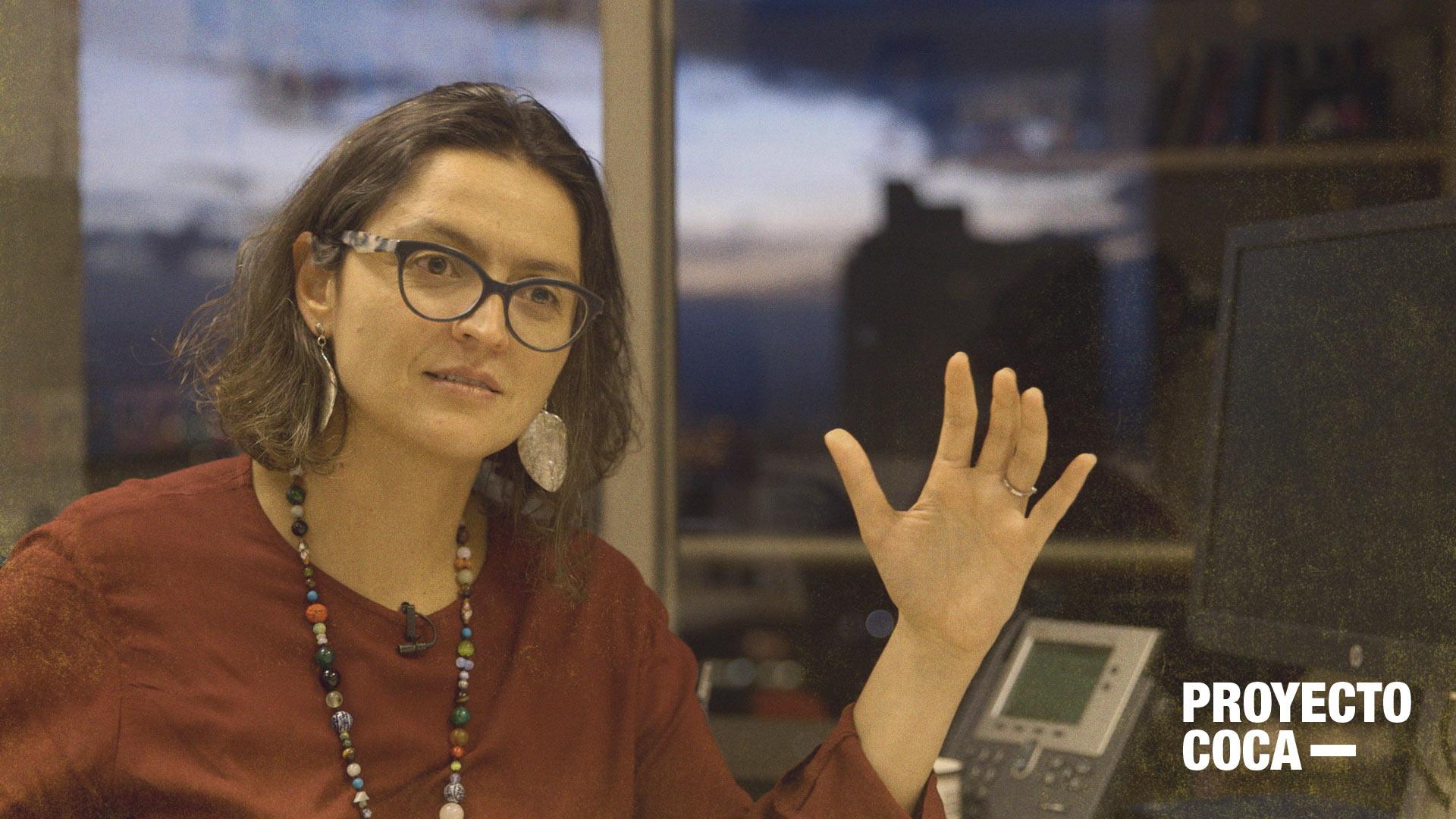 'Hay comunidades que no están cultivando coca, escuchémoslas': María Alejandra Vélez