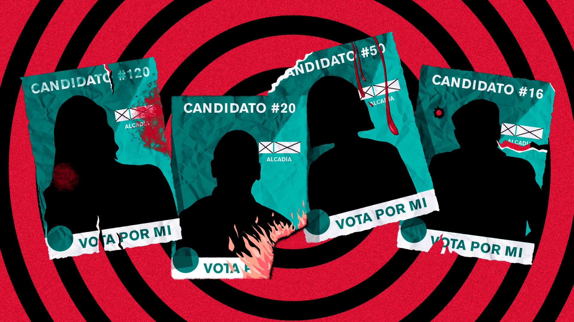 De la derecha a la izquierda: la violencia electoral no discrimina