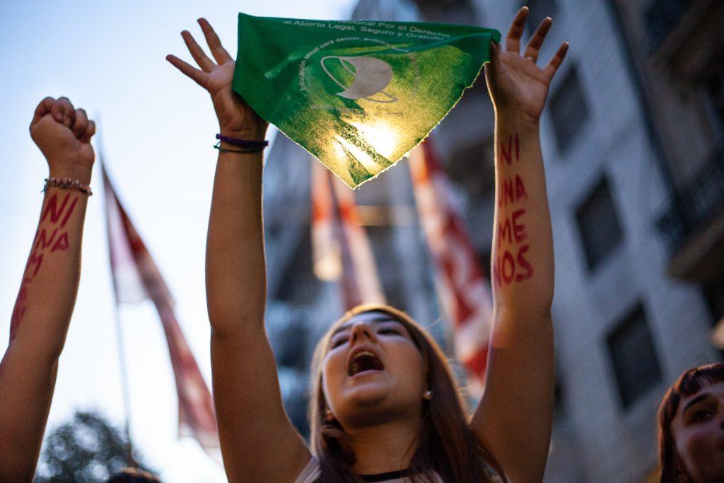 Un pañuelo verde recorre América Latina