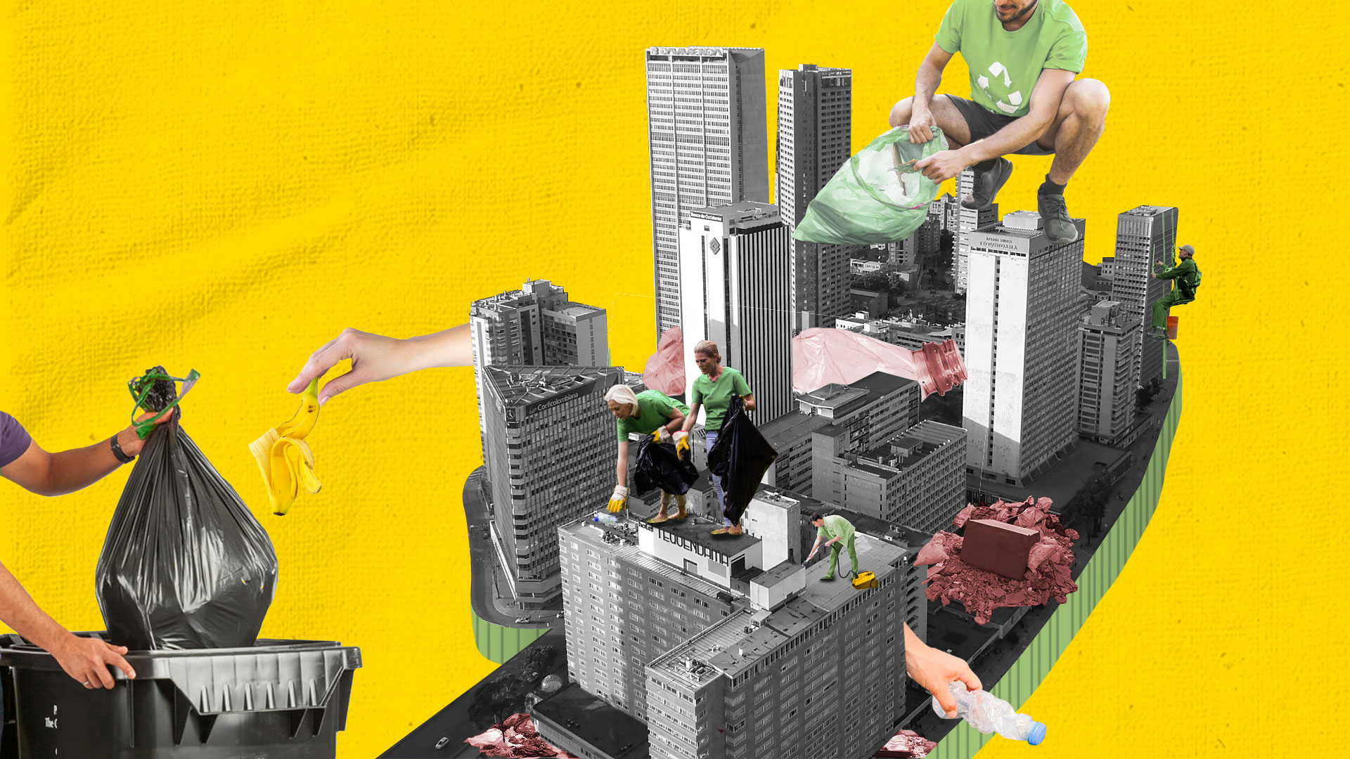El movimiento mundial que quiere sacar a los bogotanos a limpiar su ciudad