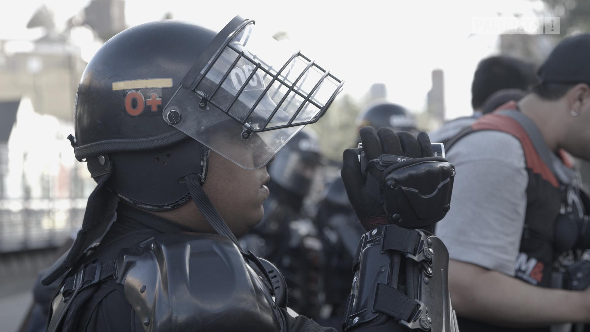 Protesta: derecho inegociable.