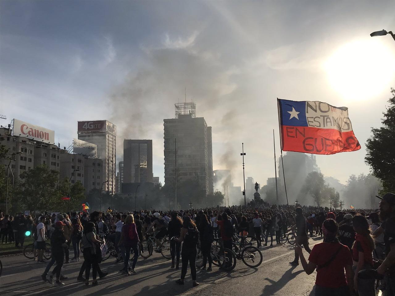 Arde Santiago