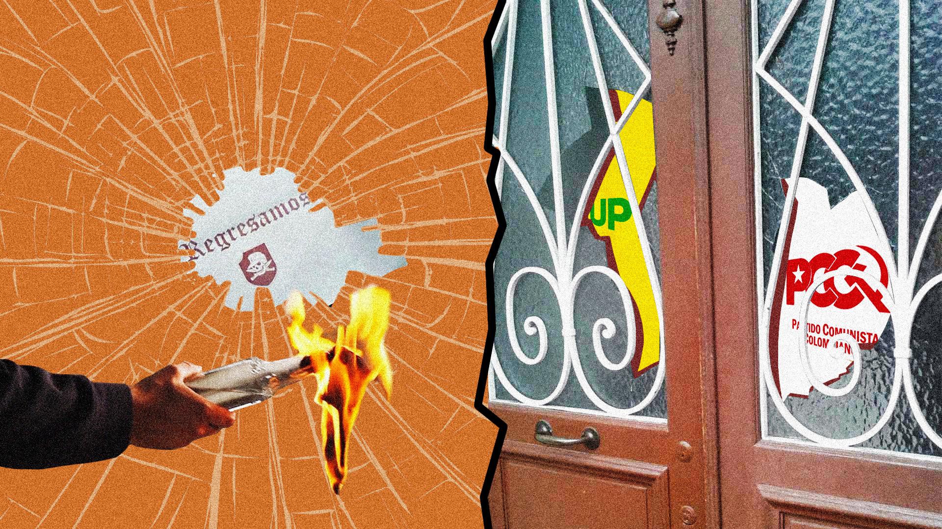 'Hace un año nos quitaron al policía que custodiaba nuestra sede': Unión Patriótica