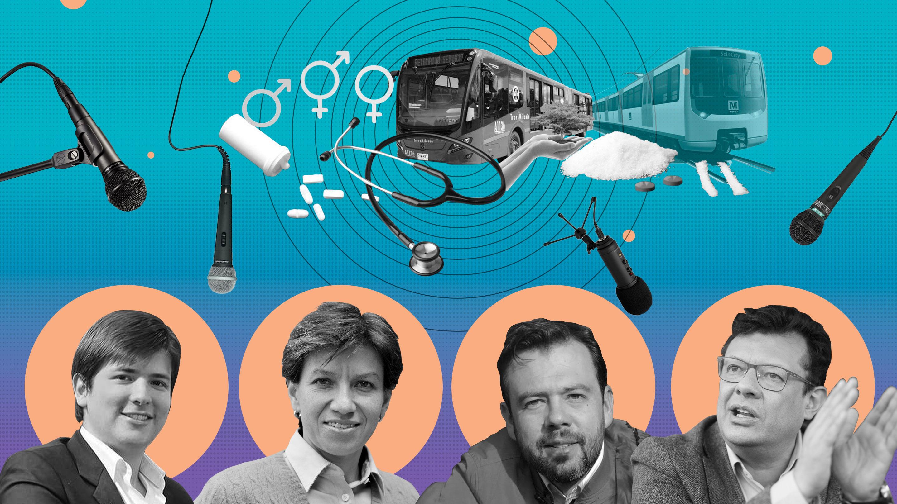 Un debate alternativo para no hablar más del metro y sí de la justicia social en Bogotá