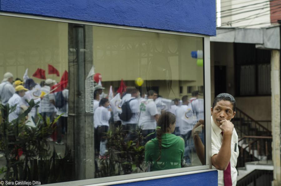 Los confusos hechos ocurridos antes del paro del 21N en Colombia