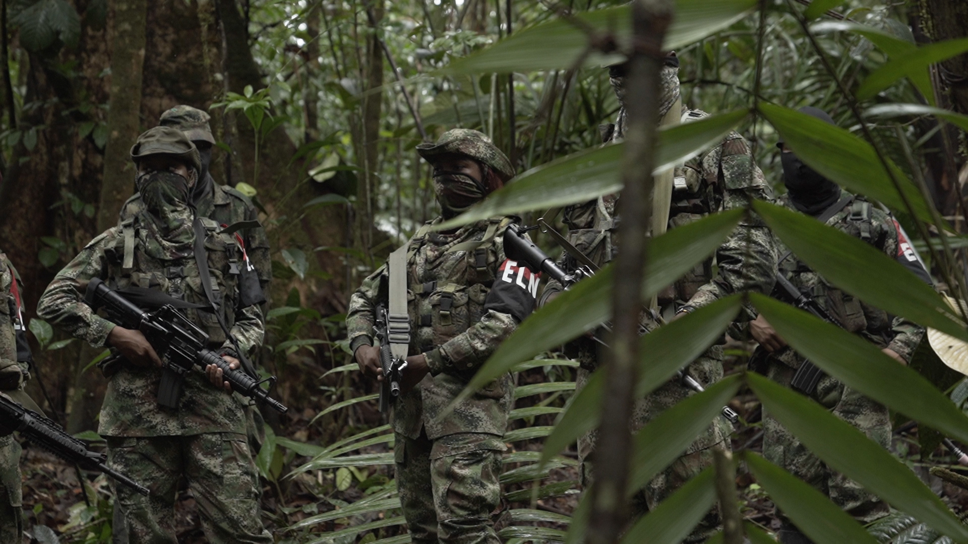 Tres días en el campamento guerrillero de 'Uriel'