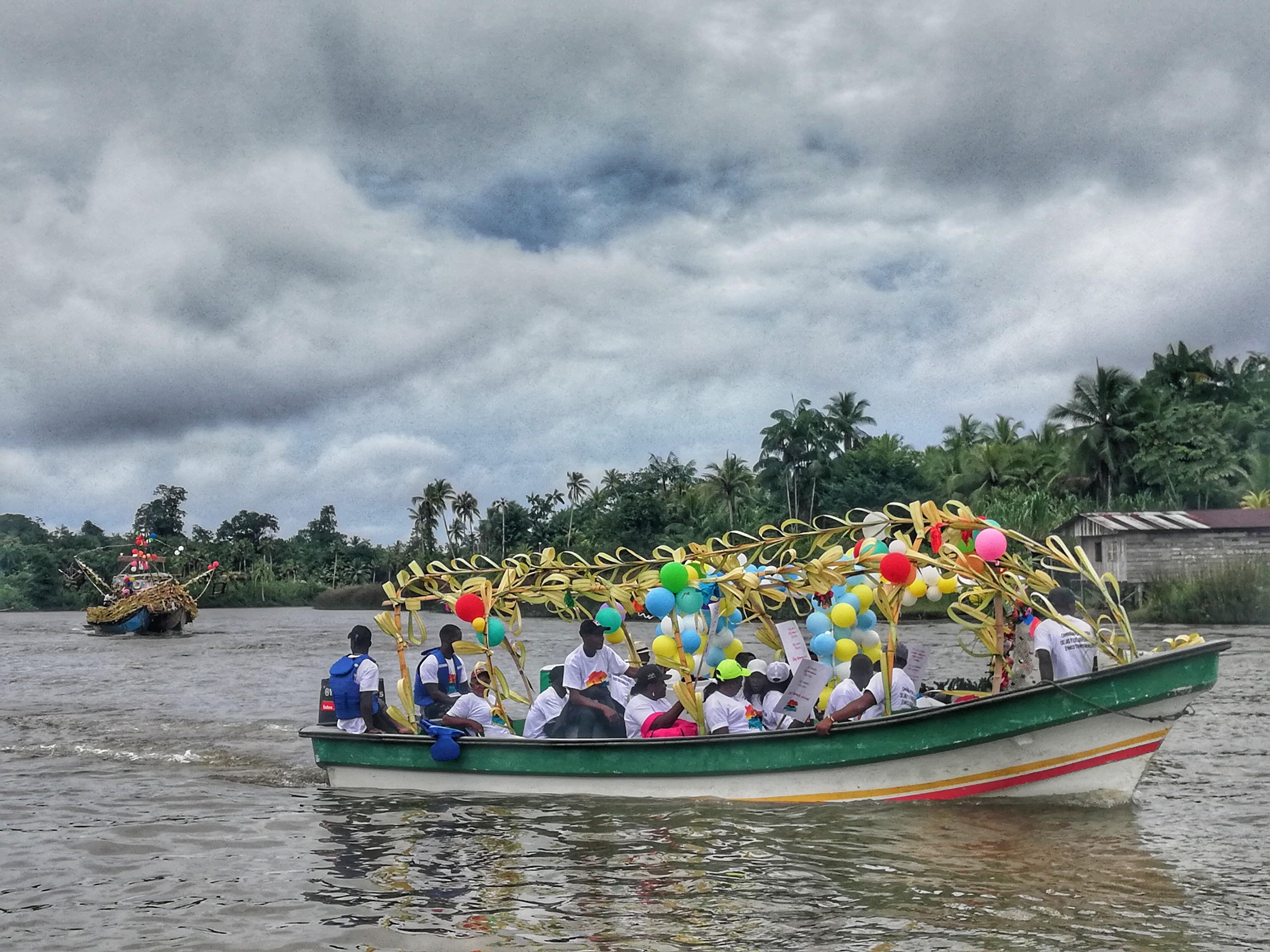 """""""Se para contra las instituciones, pero aquí no hay"""": crónica desde Timbiquí"""