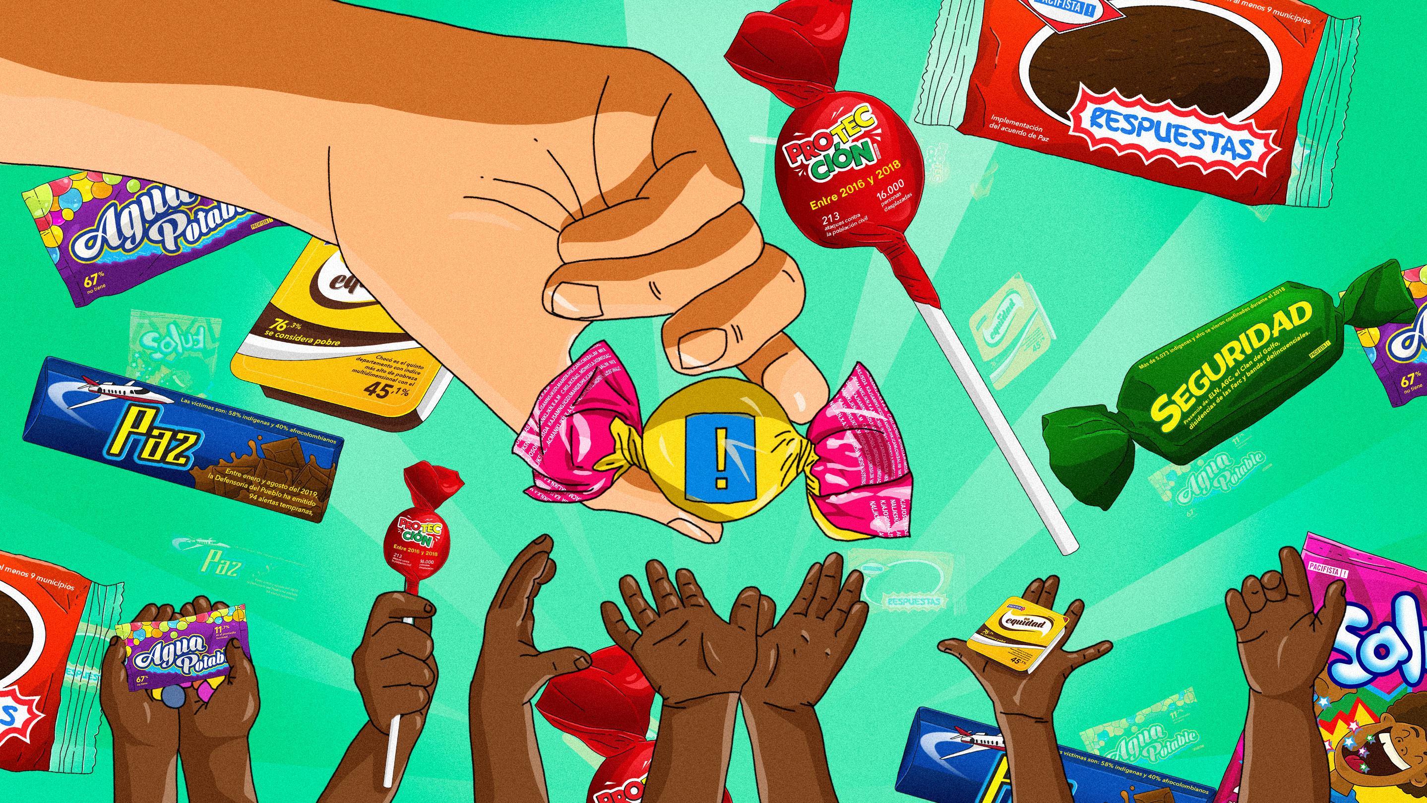 Duque, estos son los verdaderos 'dulces' que necesita Chocó