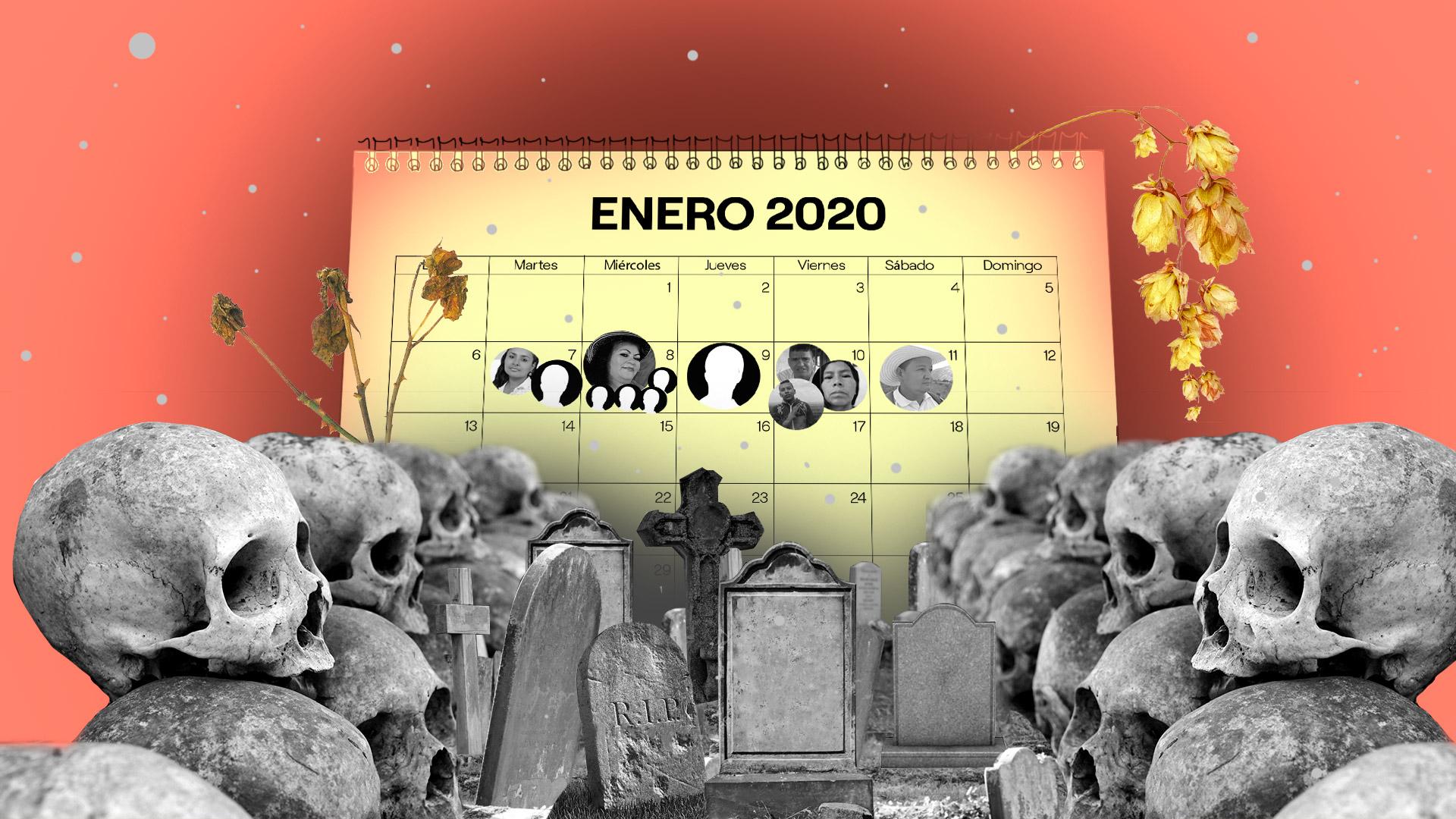 2020 empieza mal para los liderazgos territoriales (y la defensa de los Acuerdos de paz)