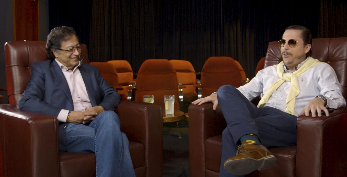 Juanpis González entrevista a Gustavo Petro