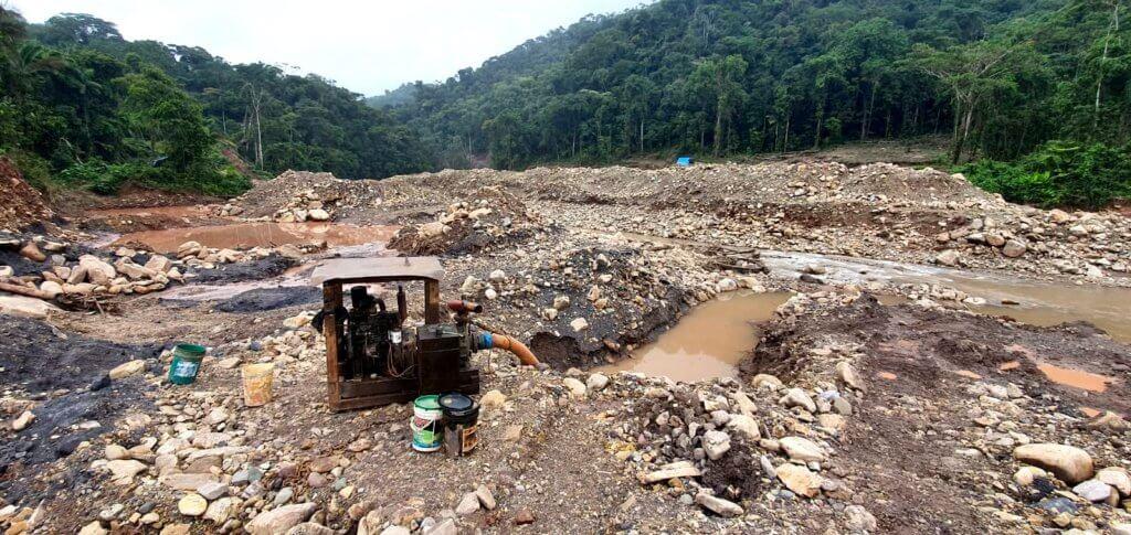 Minería ilegal en perú