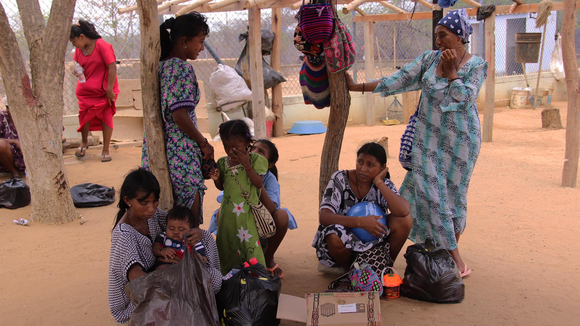 Los Wayuu esperan el coronavirus en medio de prevención para el Hombre Blanco