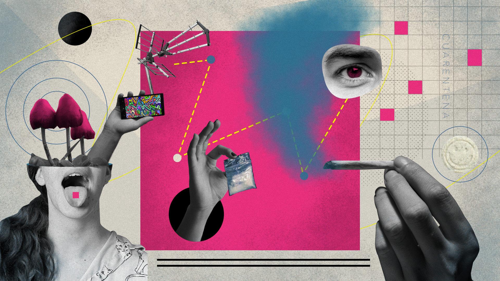 Abstinencia, malos viajes e introspección: siete testimonios sobre drogarse en la cuarentena
