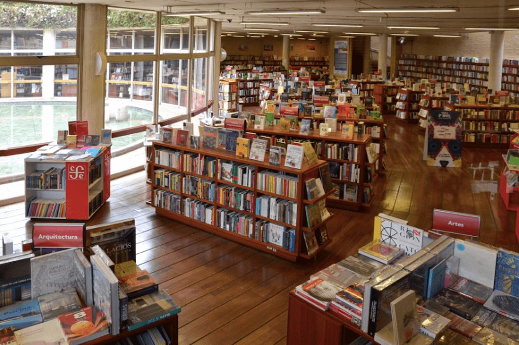 Librería FCE en Bogotá