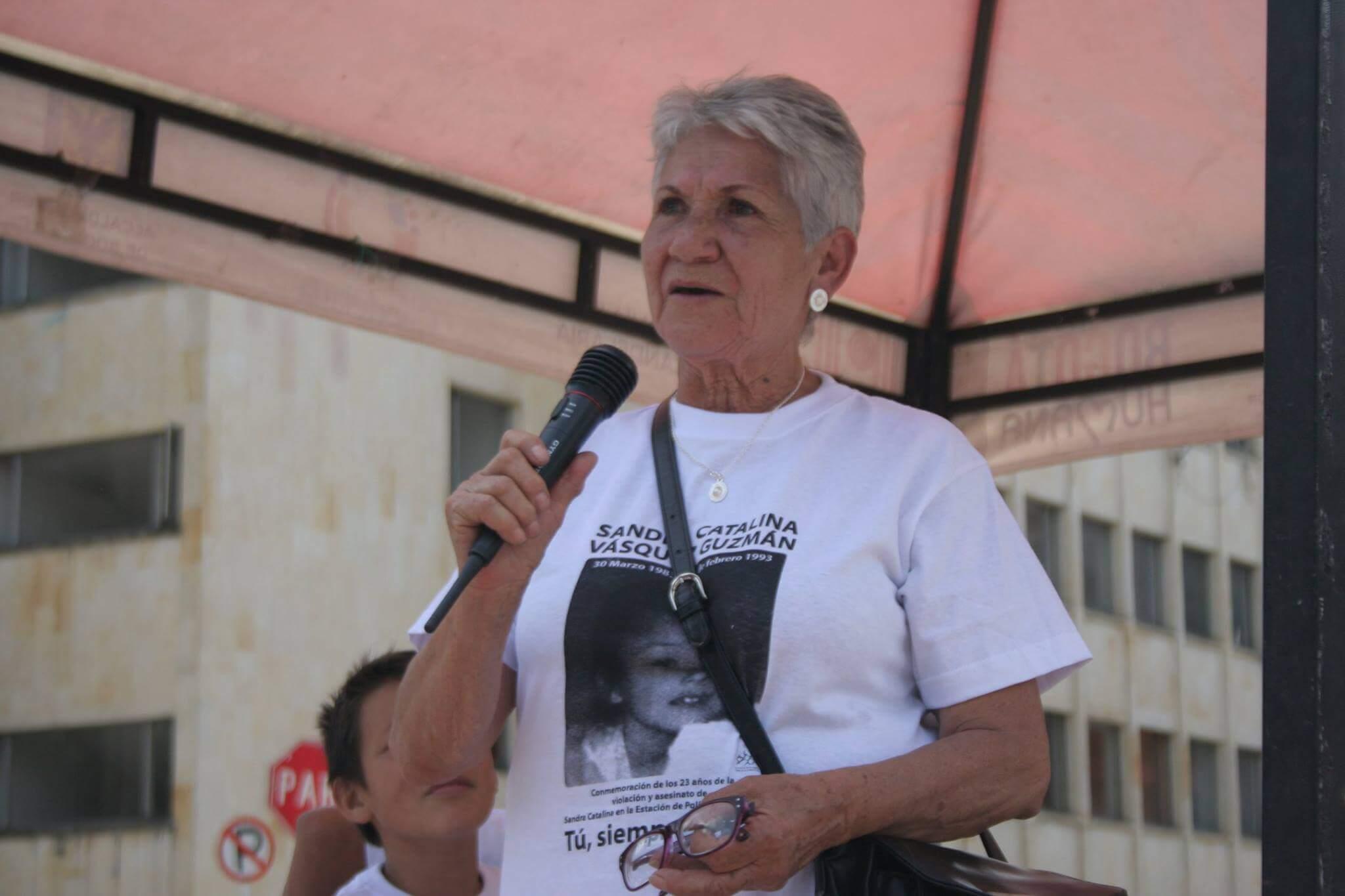 Blanca Aranda, abuela de Catalina