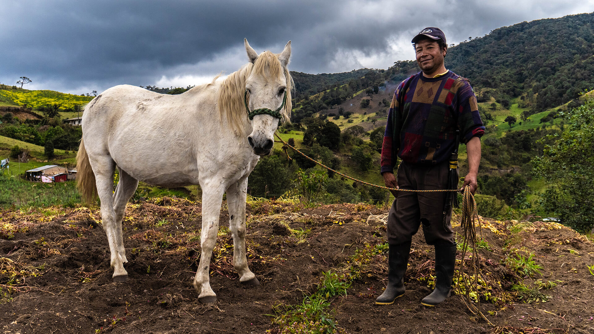 'Contamos', el documental sobre la lucha campesina en Colombia