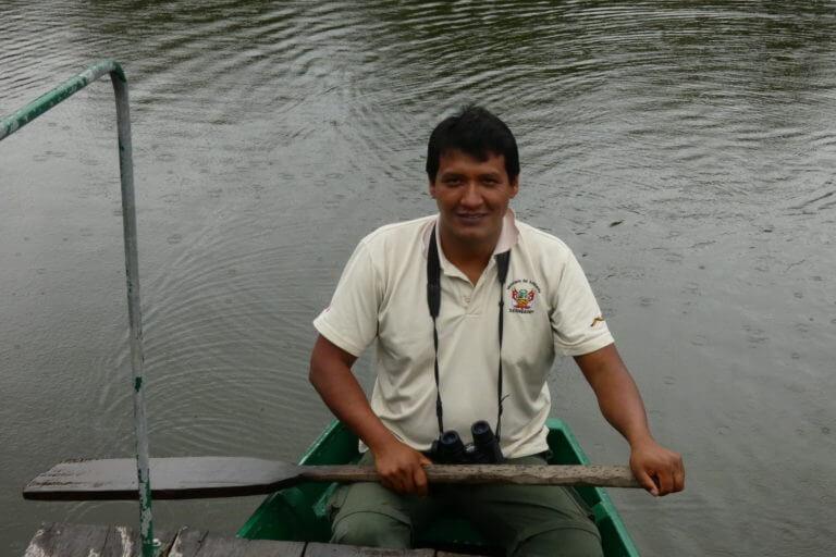 Beto Bravo, guardaparque del Parque Nacional del Manu. Foto: Archivo Beto Bravo.