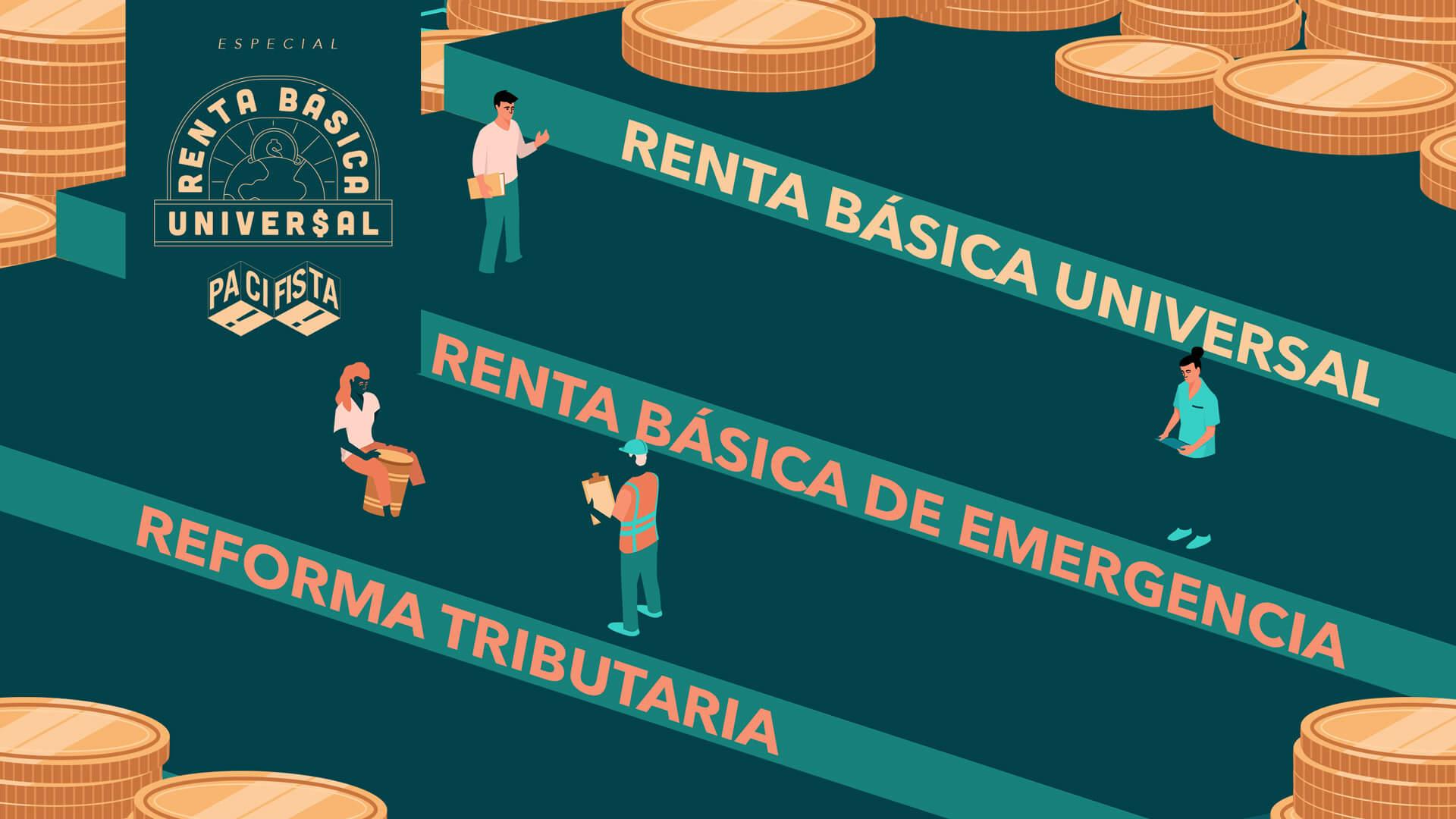 La Renta básica de emergencia y la Reforma tributaria llegan al Congreso