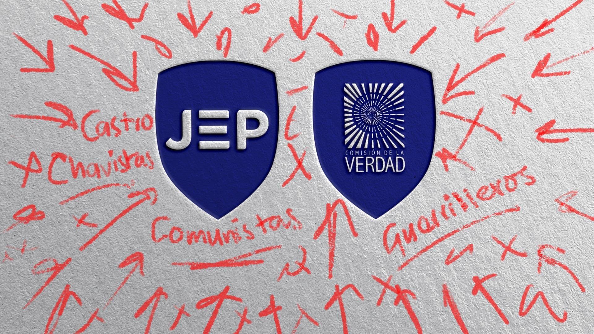 ¡Oh, sorpresa! A la Comisión de la Verdad y la JEP las atacan con mentiras e injusticias