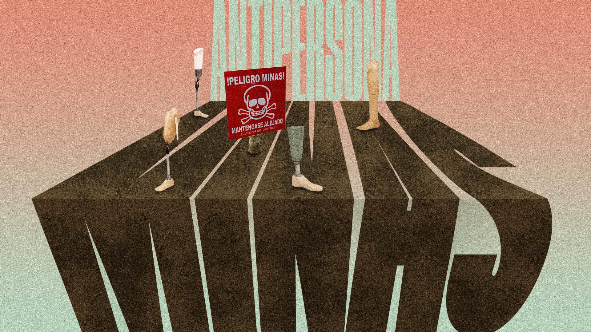 Minas antipersona, otro peligro invisible en medio de la pandemia