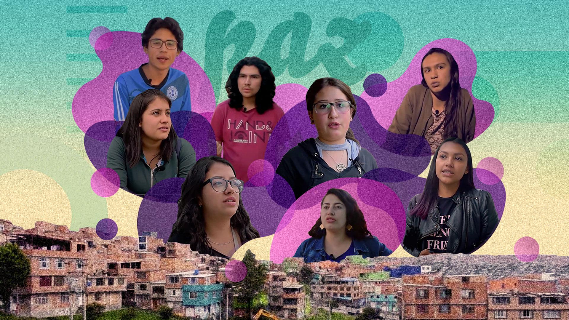 Ser joven y líder social en Bogotá: una aventura casi invisible