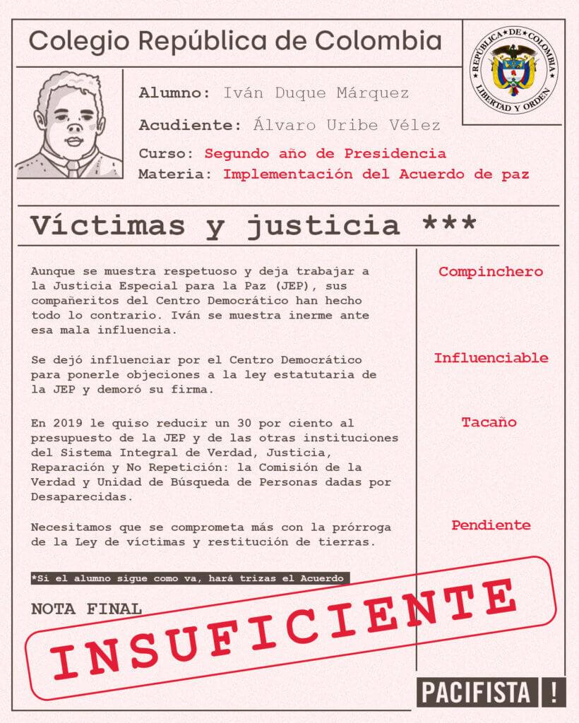 Víctimas y justicia
