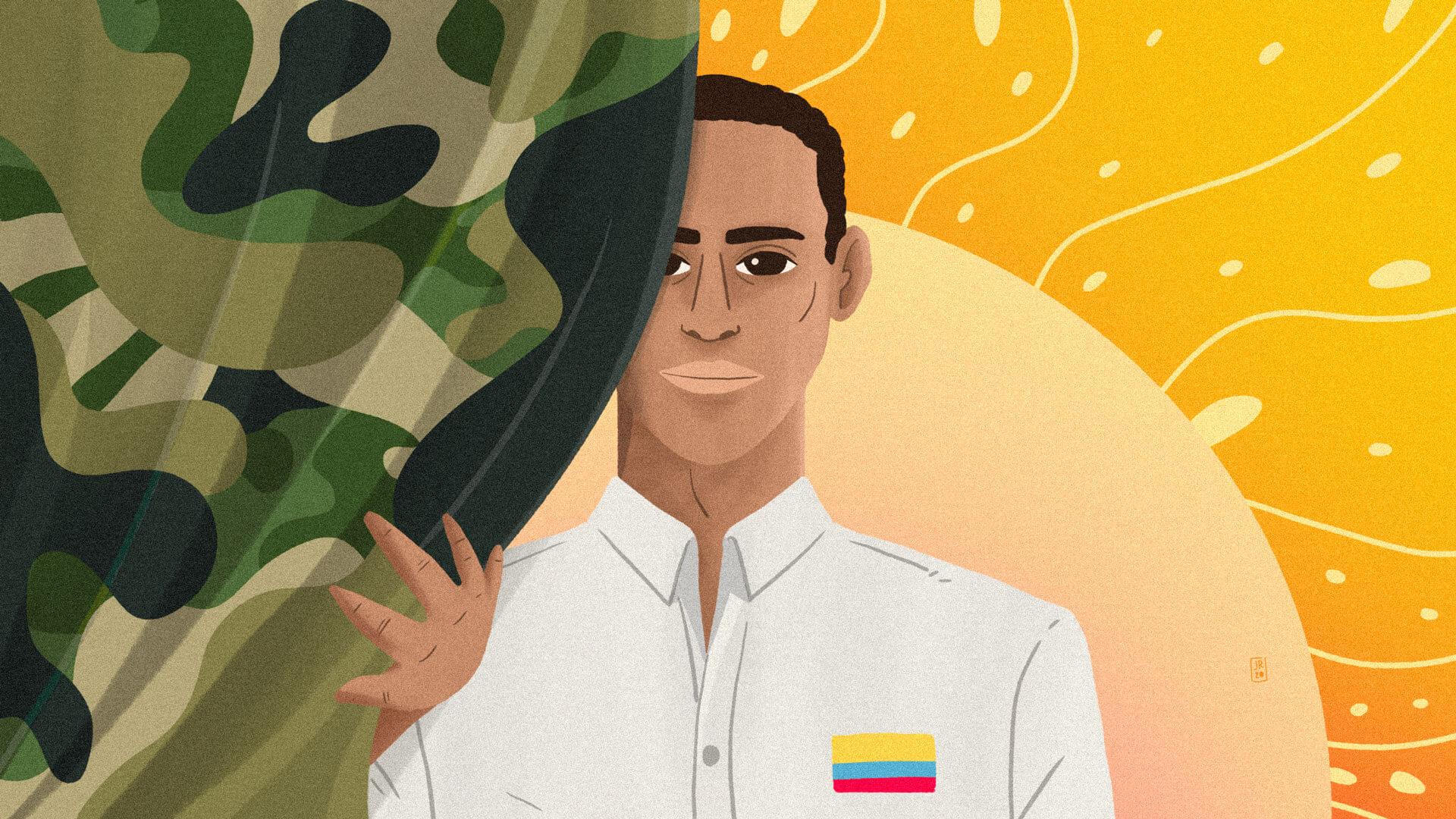 """""""Así evité prestar servicio militar y le gané al discurso de guerra"""", Estiven Quiñones"""