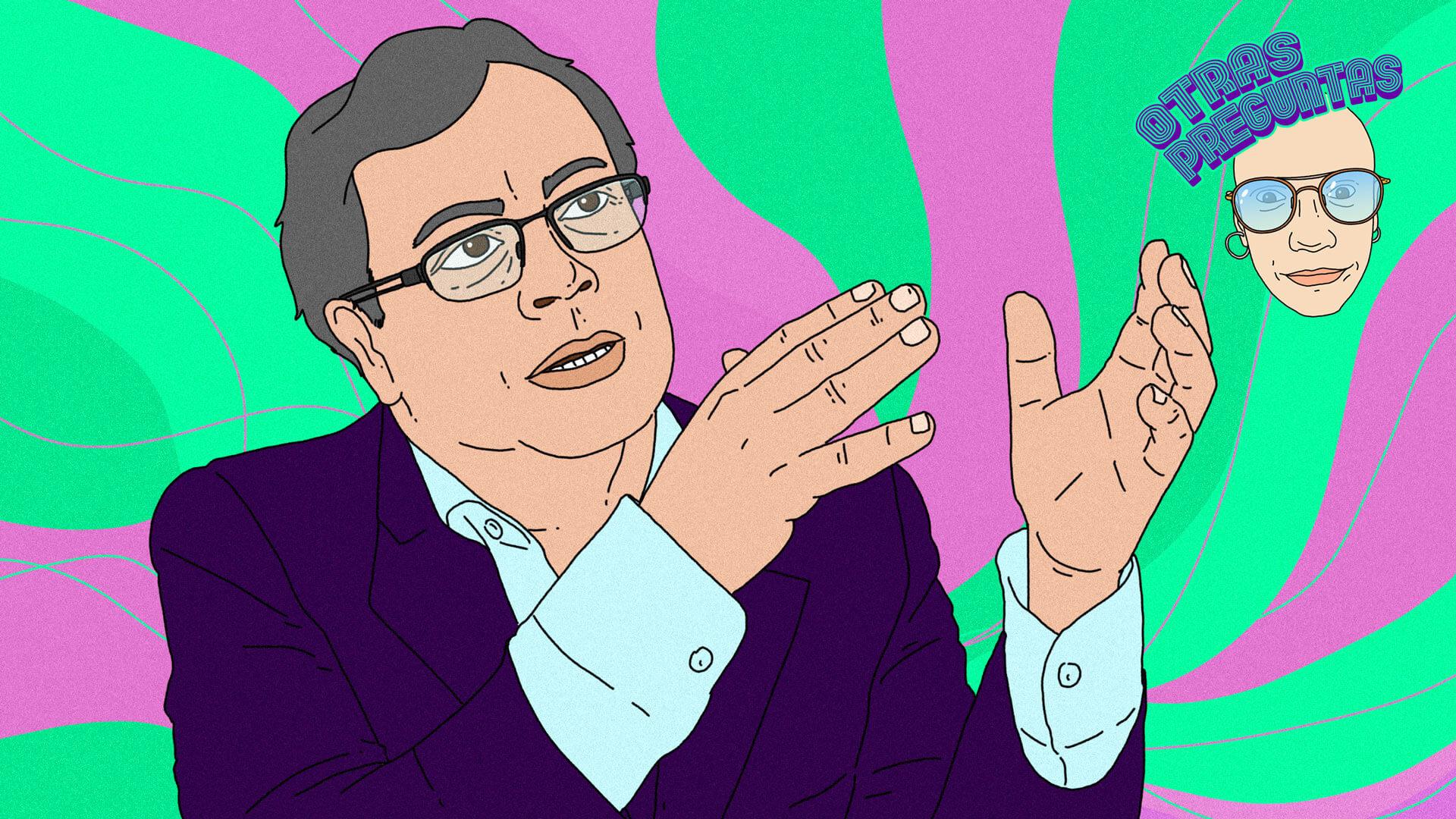 PACIFISTA! presenta: 'Otras preguntas' | El Calvo y Gustavo Petro