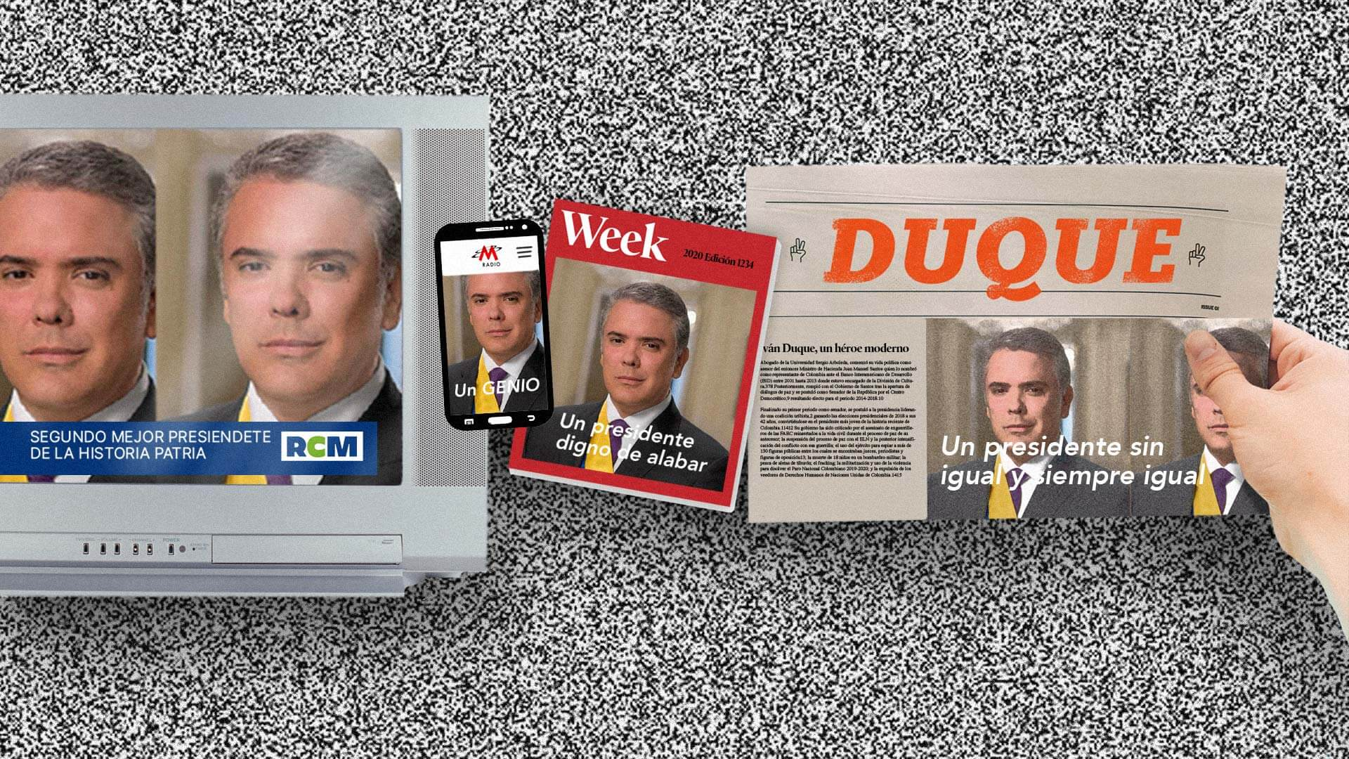 Manual de Duque para adueñarse de la opinión pública