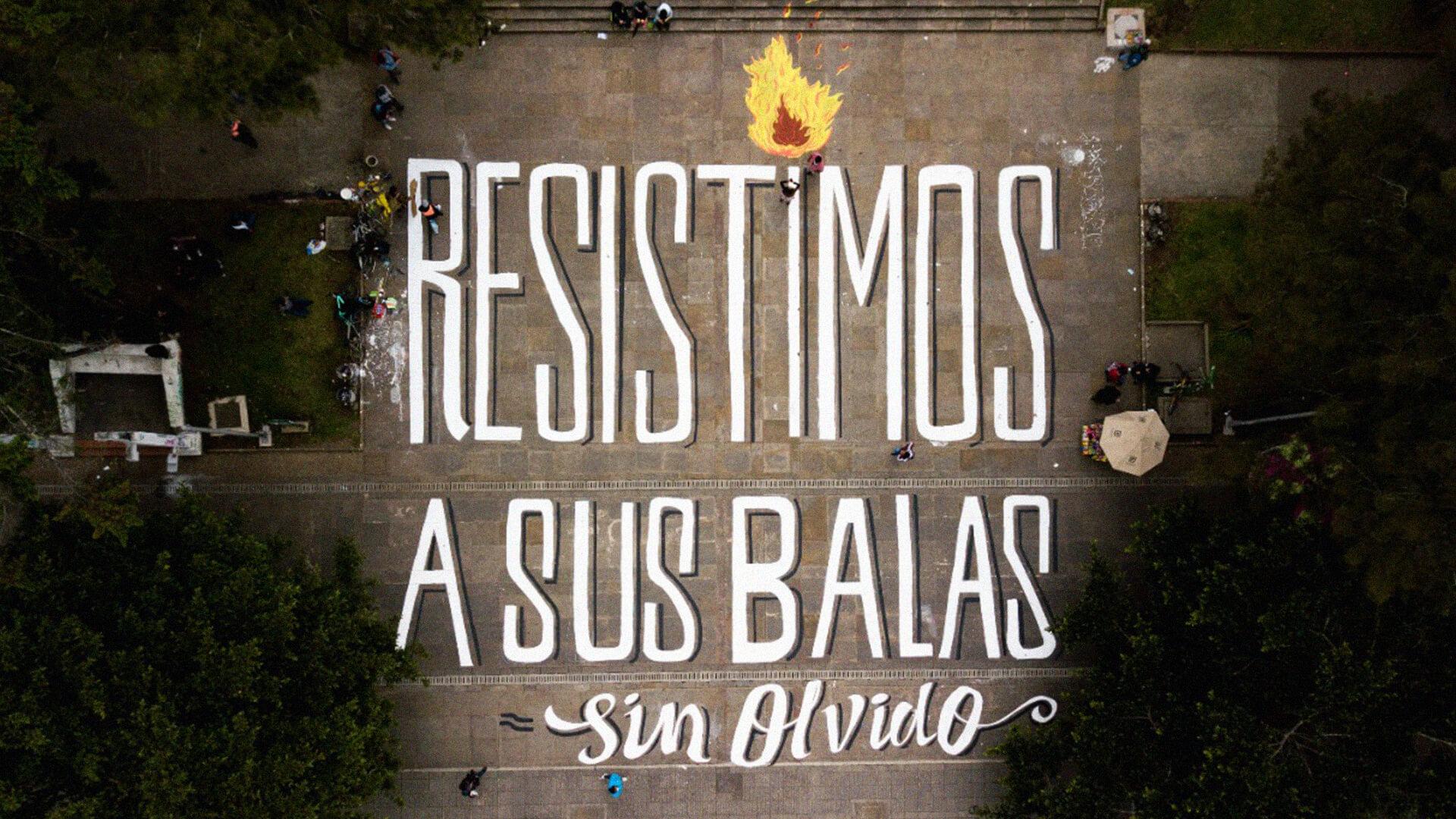 PACIFISTA! presenta: Resistimos a sus balas