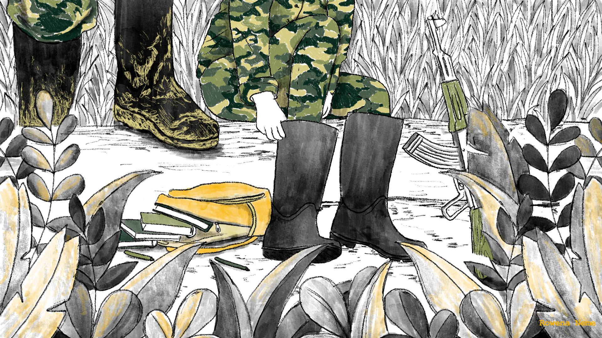 Las nuevas guerras reclutan niños en Cauca