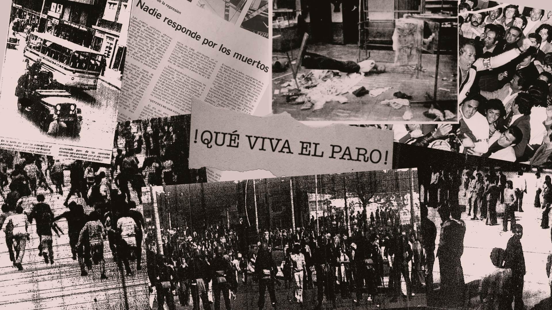 El Paro Cívico de 1977: cuando toda Bogotá se movilizó por primera vez
