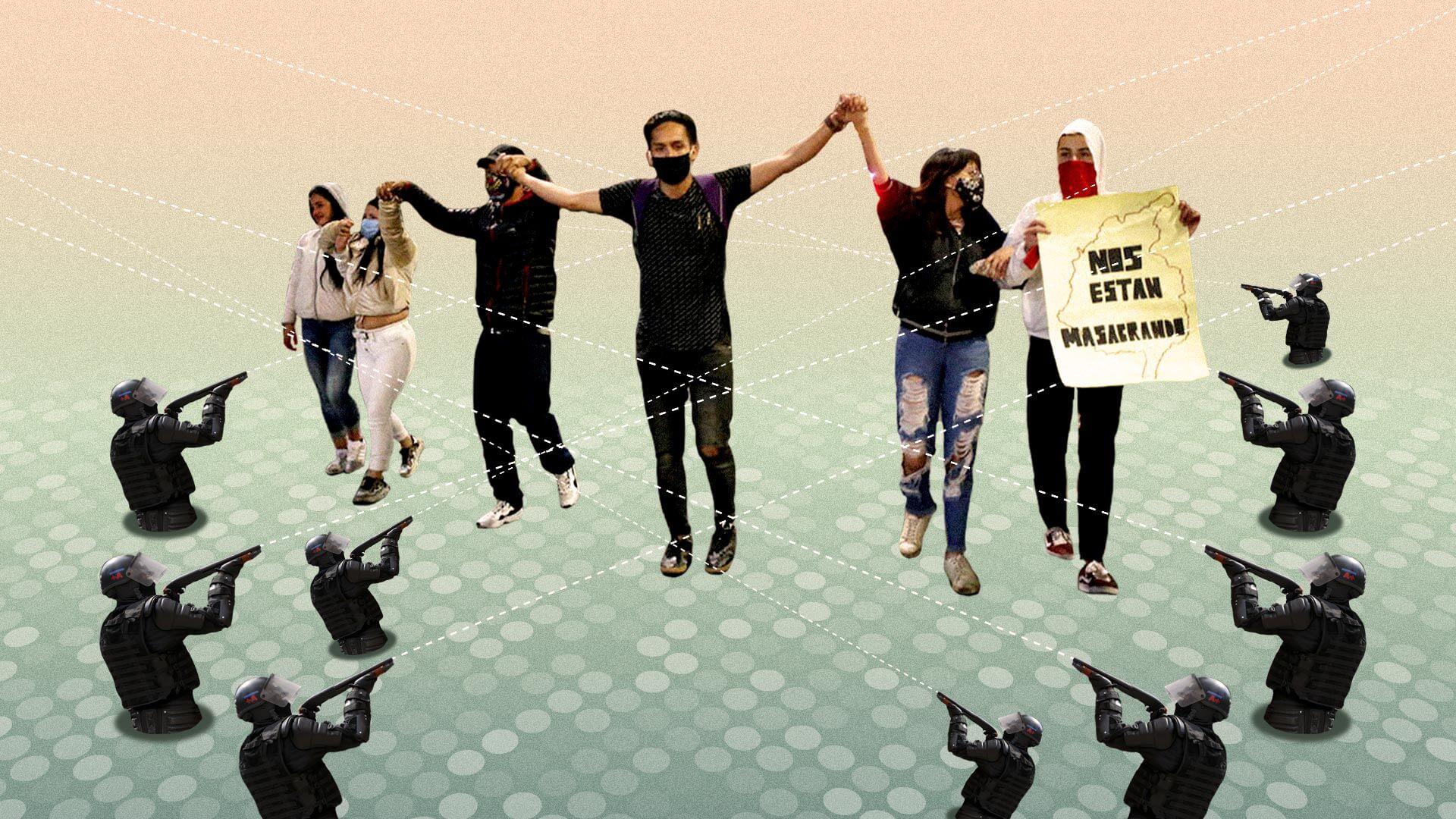 El derecho y el deber de protestar contra la violencia