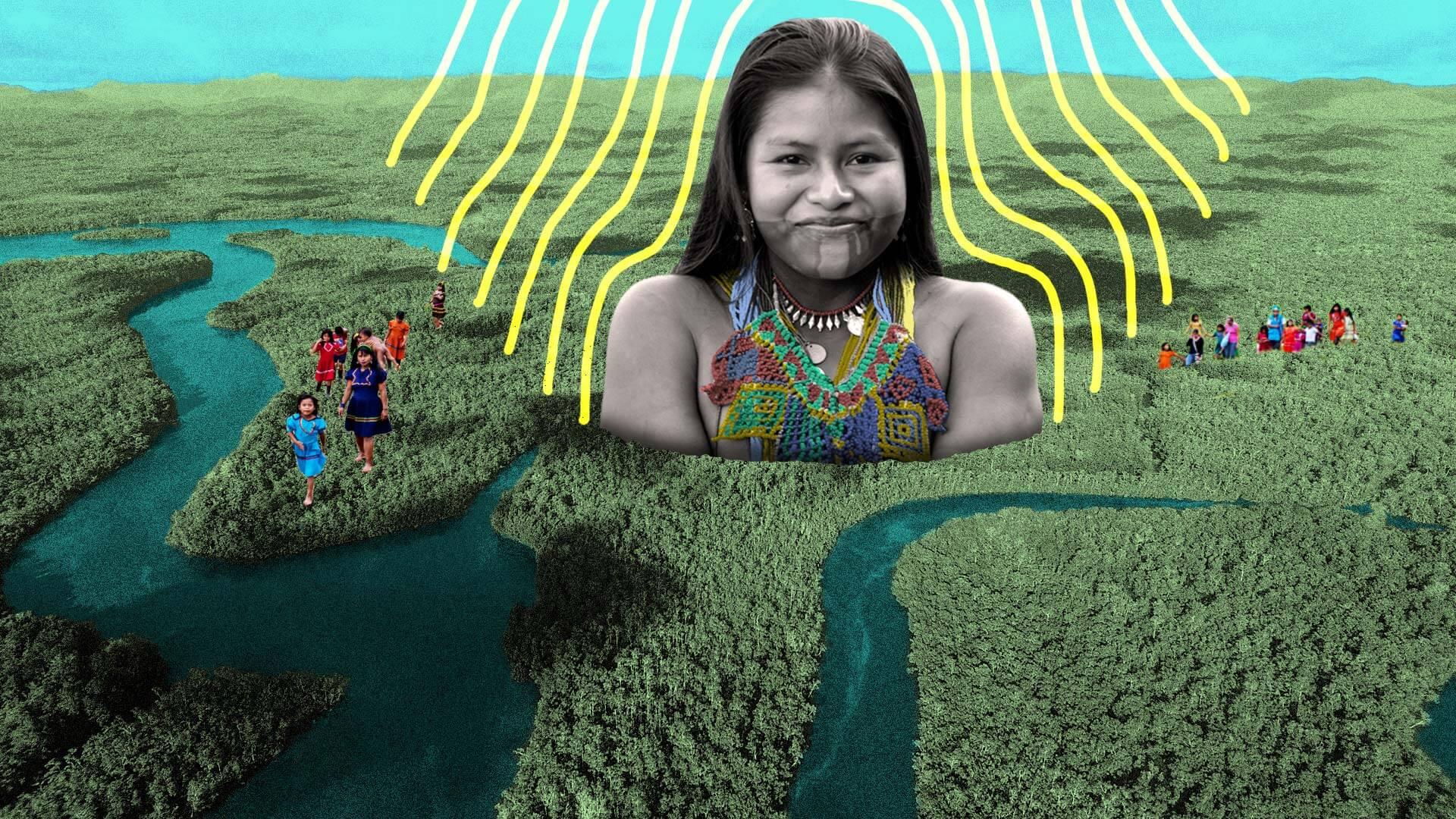 Tierra y dignidad, los reclamos de los pueblos indígenas del Pacífico