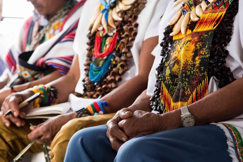 Indígenas Mocoa Comisión