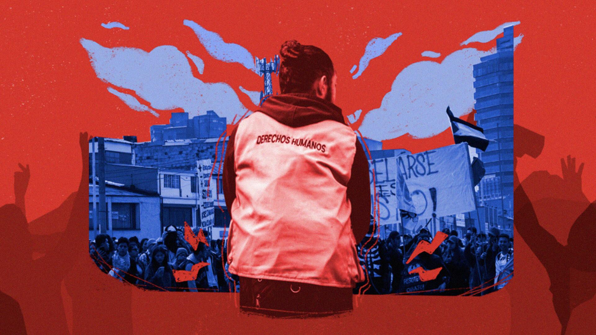 Defensores en la protesta social: una labor crucial en riesgo inminente
