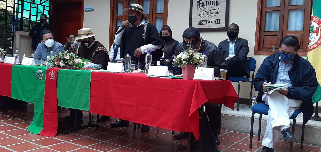 Indígenas del Cauca cancelan reunión con el Alto Comisionado para la Paz