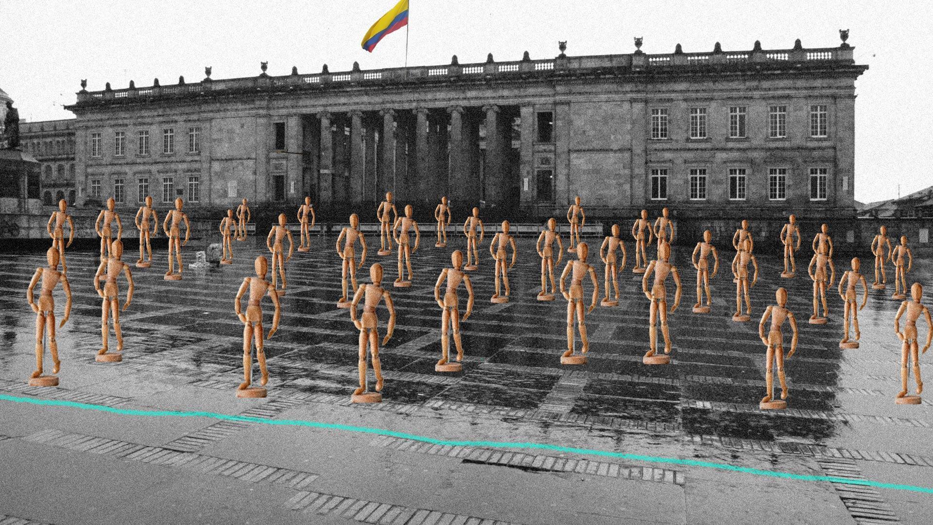 ¿Ya vieron el protocolo exprés para la protesta social en Colombia?