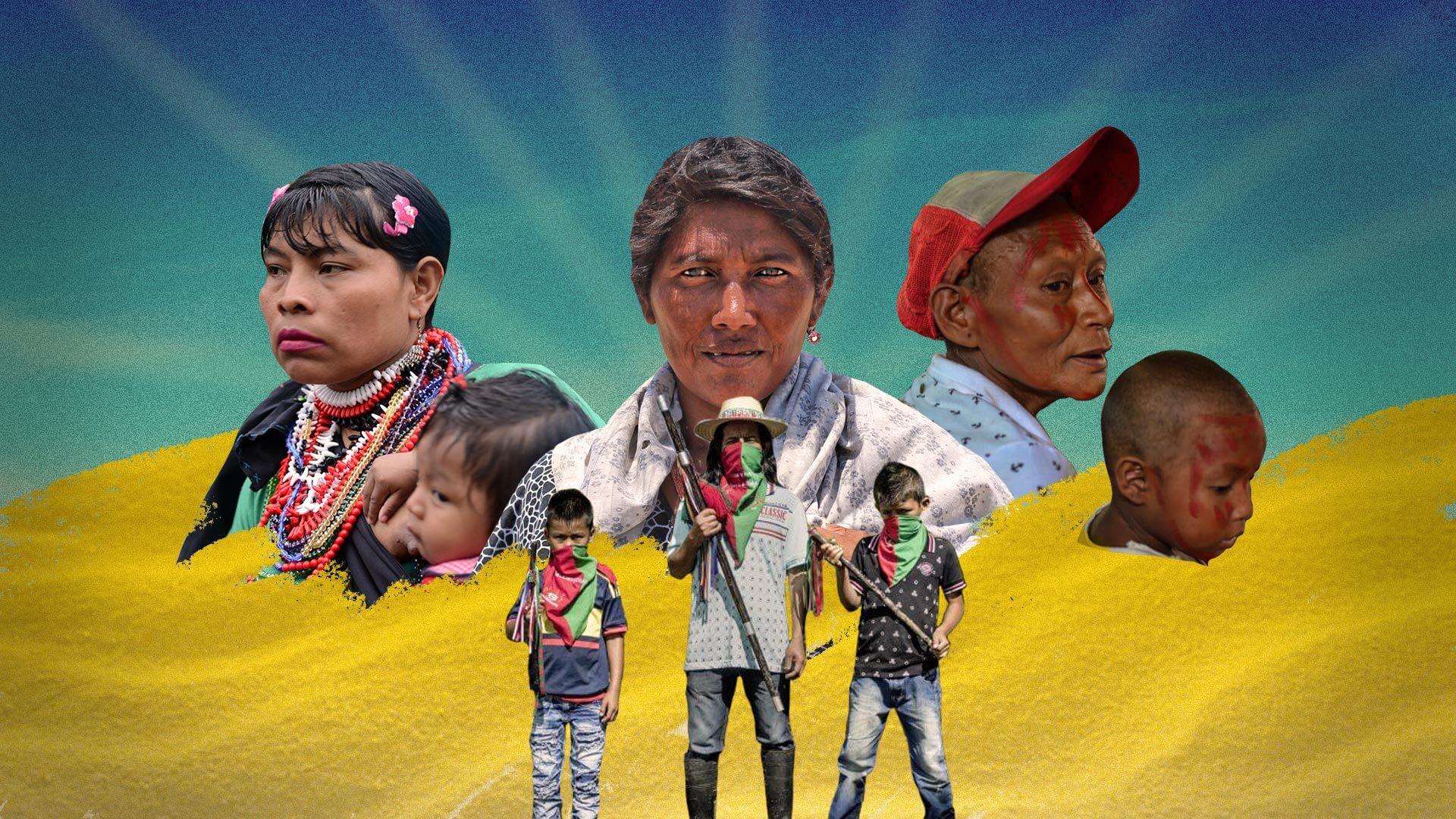 La verdadera historia de violencia que sufrieron los indígenas en medio del conflicto