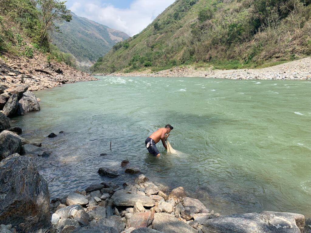 Cañón del río Cauca entre Ituango y Briceño