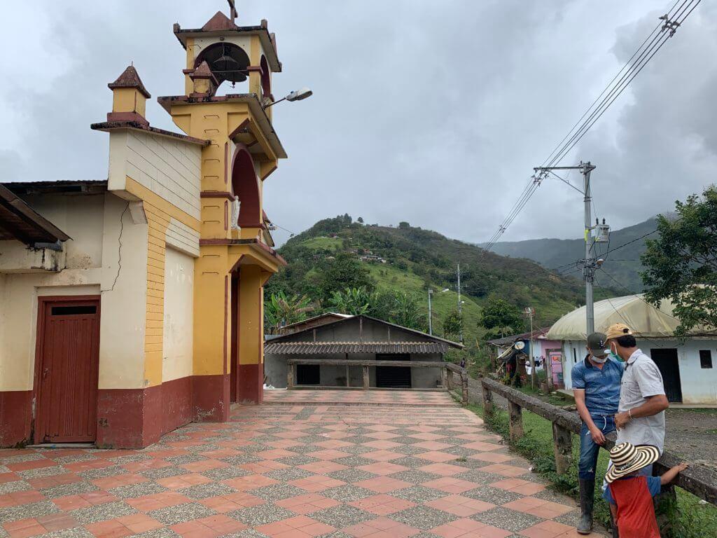 Iglesia en La Loma en Yarumal