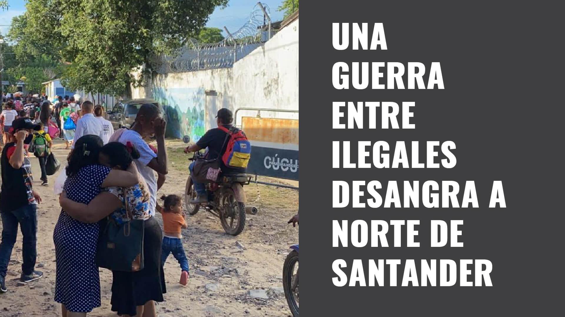 Una guerra entre ilegales desangra a Norte de Santander