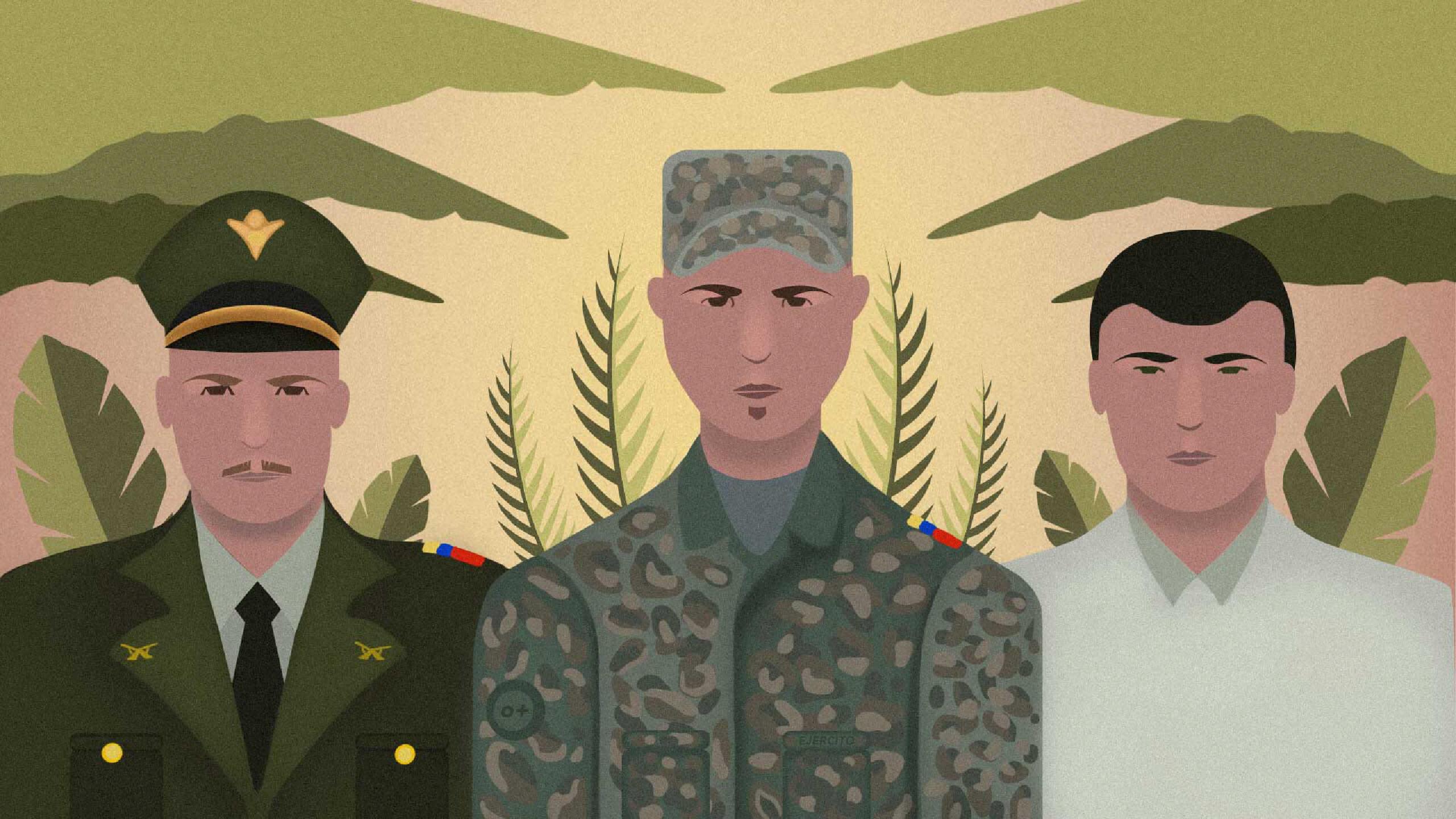 Las huellas y los impactos que dejó el conflicto armado en las vidas y las familias de los militares y policías